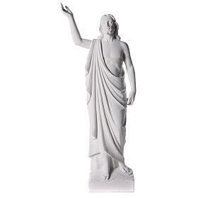 Cristo Redentor 90 cm pó de mármore
