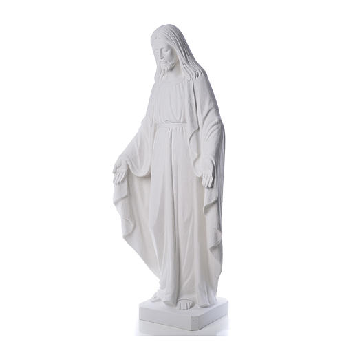 Redentor 130 cm mármol blanco