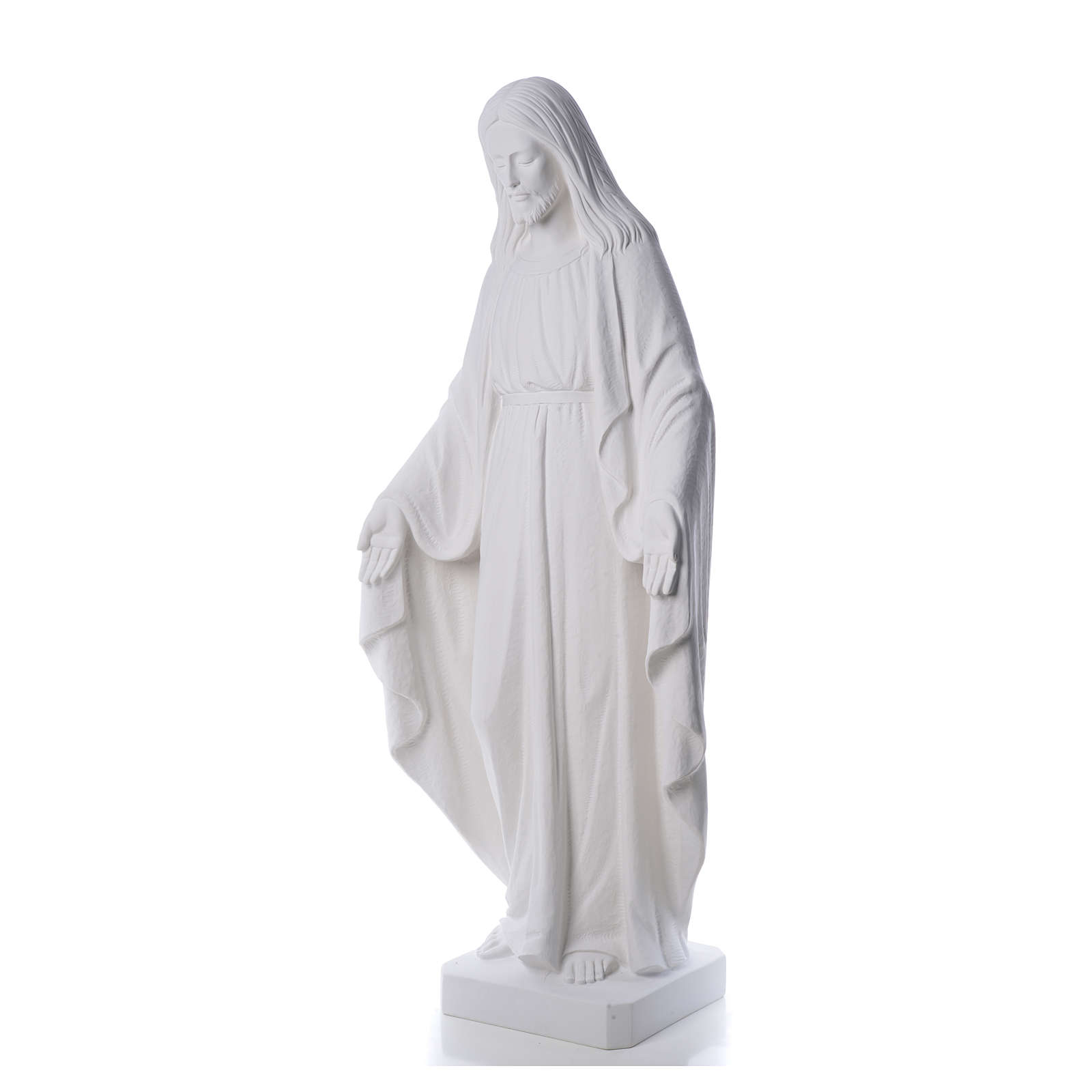 Christ the Redeemer statue  in reconstituted Carrara Marble, 130 4
