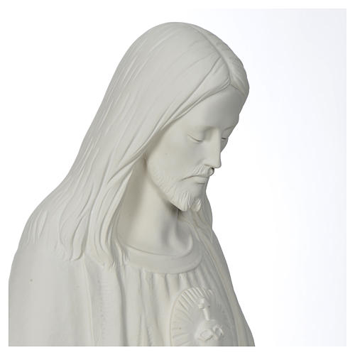 Christ the Redeemer statue  in reconstituted Carrara Marble, 130 10