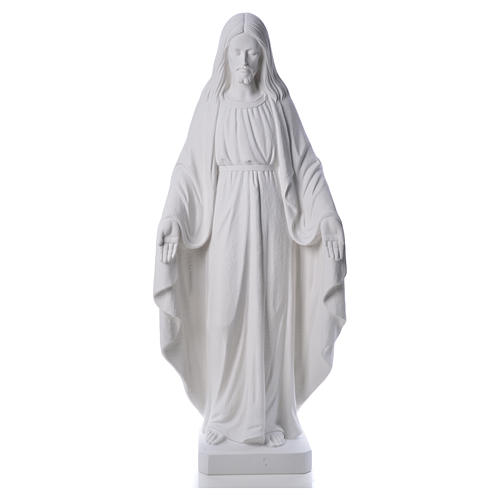 Christ the Redeemer statue in composite Carrara Marble, 130 10