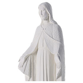 Redentore 110 cm polvere di marmo bianco