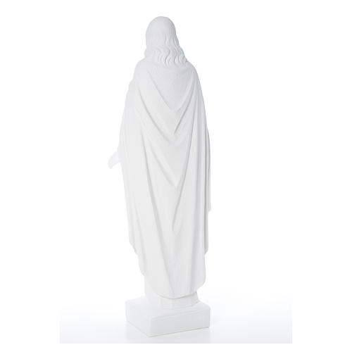 Sacro Cuore di Gesù 62 cm polvere di marmo 15