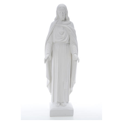 Holy Heart of Jesus, 62 cm Reconstituted Carrara Marble Statue 18