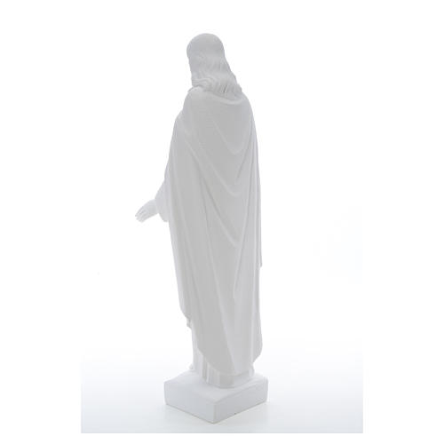 Holy Heart of Jesus, 62 cm Reconstituted Carrara Marble Statue 20