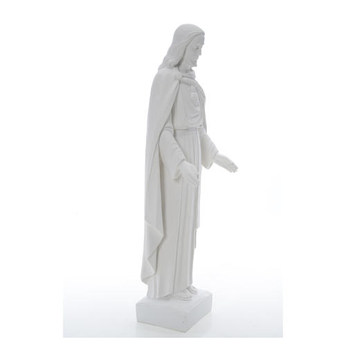 Holy Heart of Jesus, 62 cm Reconstituted Carrara Marble Statue 21