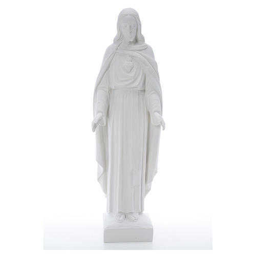 Holy Heart of Jesus, 62 cm Reconstituted Carrara Marble Statue 2