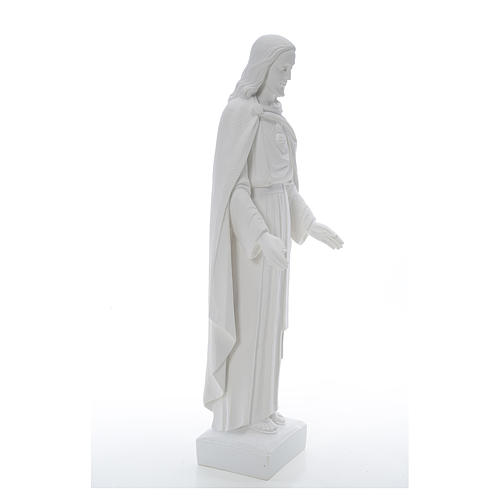 Holy Heart of Jesus, 62 cm Reconstituted Carrara Marble Statue 5