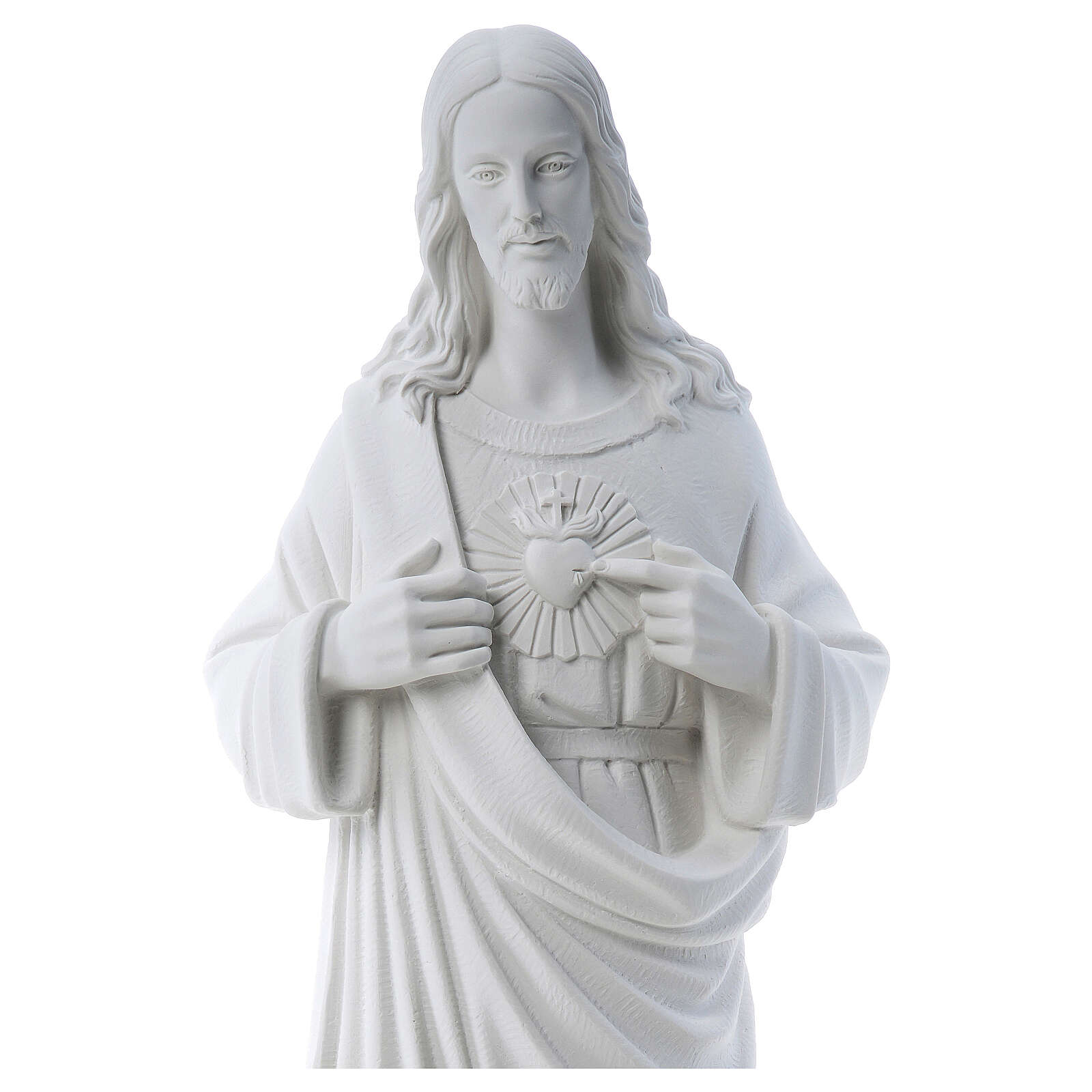 Sagrado Corazón de Jesús polvo de mármol 80-100 cm 4