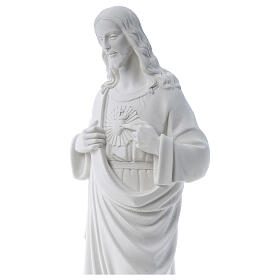 Sagrado Corazón de Jesús polvo de mármol 80-100 cm s2