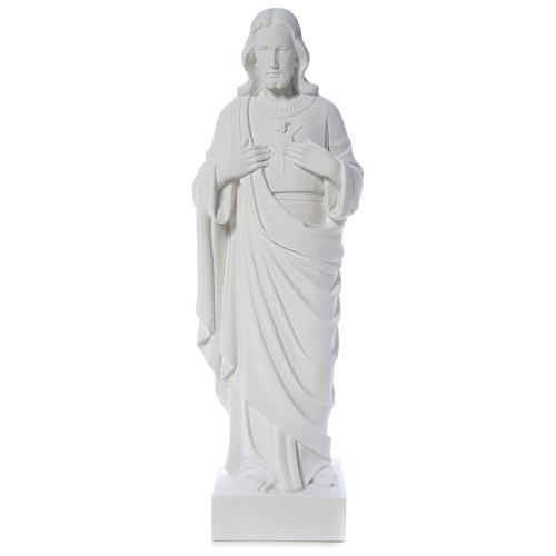 Sagrado Corazón de Jesús polvo de mármol 80-100 cm 1