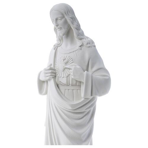 Sagrado Corazón de Jesús polvo de mármol 80-100 cm 2