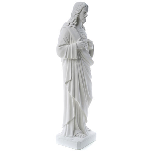 Sagrado Corazón de Jesús polvo de mármol 80-100 cm 5