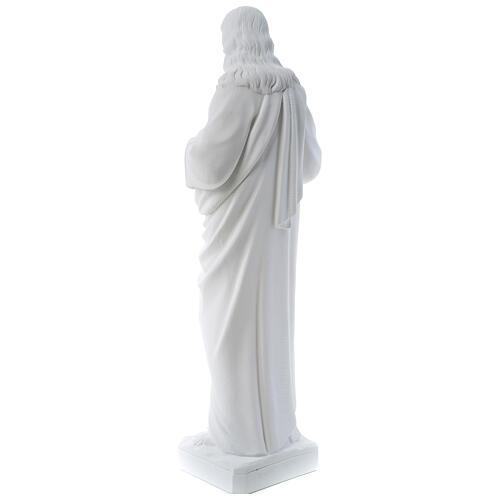Sagrado Corazón de Jesús polvo de mármol 80-100 cm 7