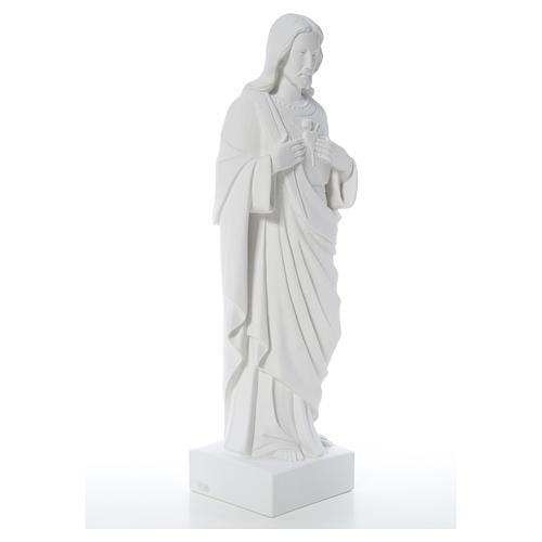 Sacro Cuore di Gesù polvere di marmo 80-100 cm 8