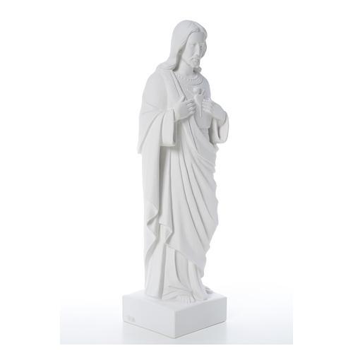 Sacro Cuore di Gesù polvere di marmo 80-100 cm 12