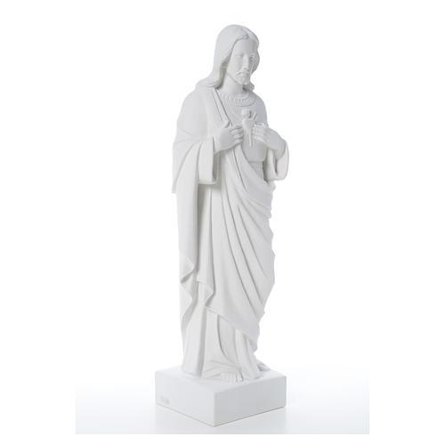 Sacro Cuore di Gesù polvere di marmo 80-100 cm 16