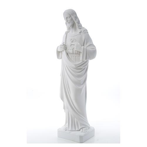 Sacro Cuore di Gesù polvere di marmo 80-100 cm 18