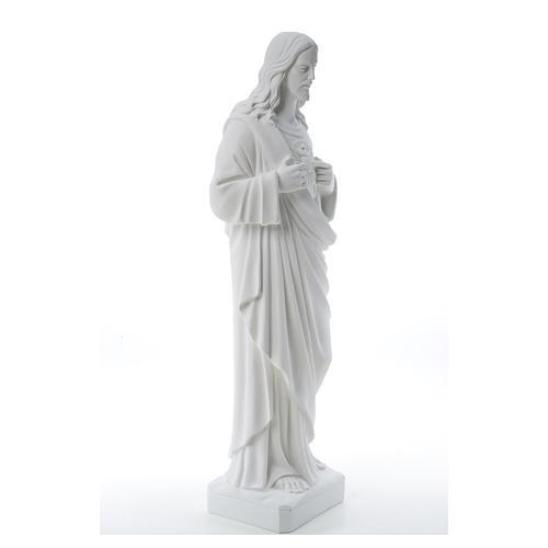 Sacro Cuore di Gesù polvere di marmo 80-100 cm 20