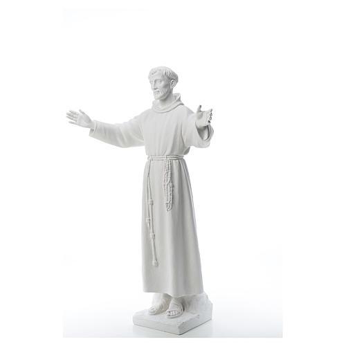 San Francisco brazos abiertos,  100 cm mármol