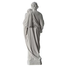 Statua San Giuseppe marmo sintetico 30-40 cm s5