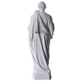 Figurka Święty Józef marmur syntetyczny 30-40 cm s5