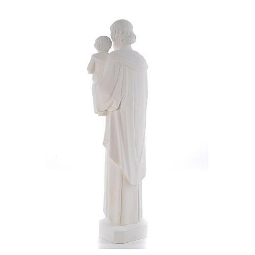 Saint Joseph 65 cm Reconstituted Carrara Marble Statue 3