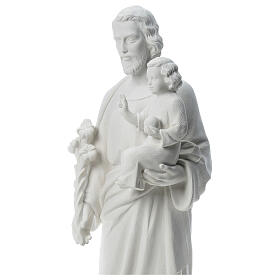 São José pó de mármore branco 100 cm