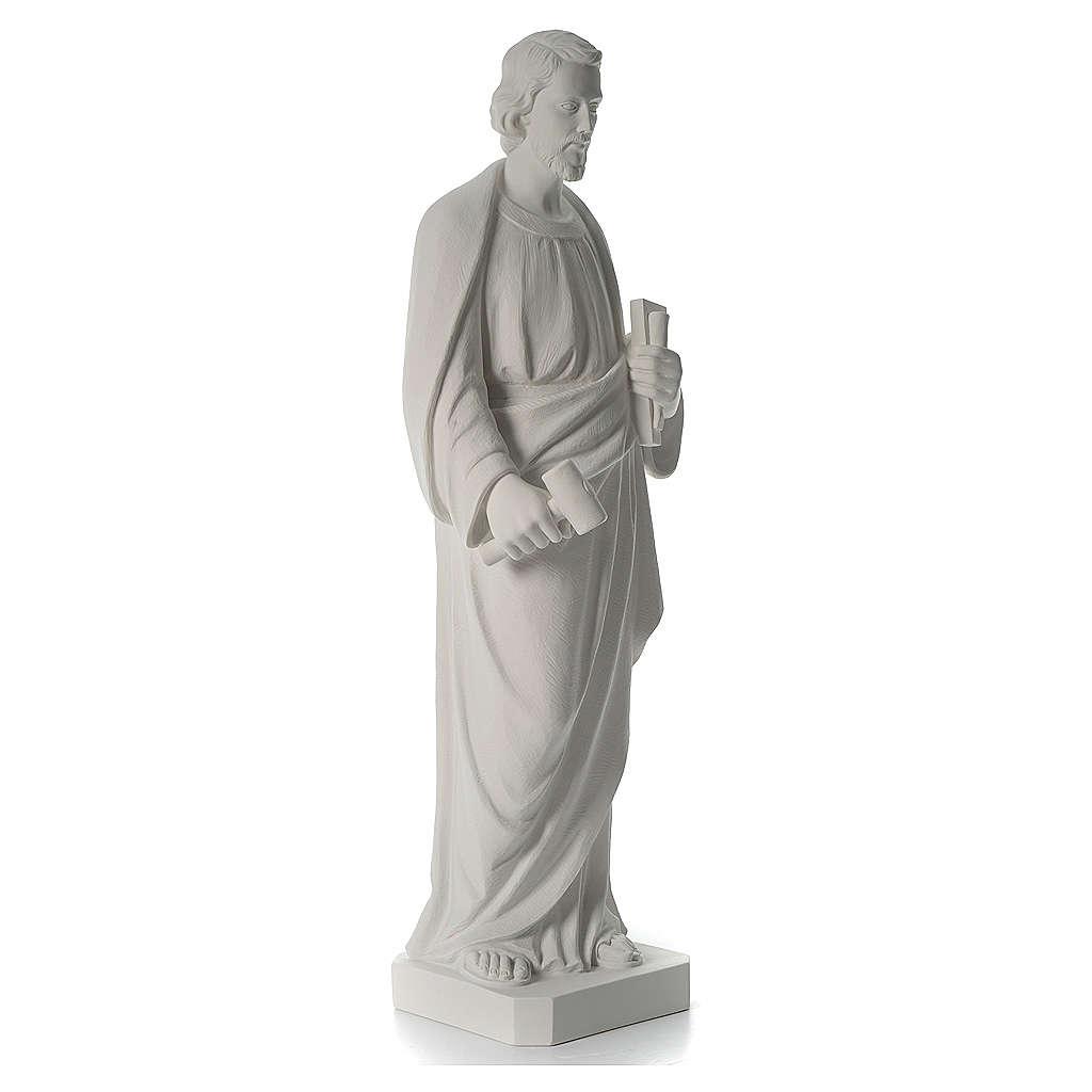 San Giuseppe Falegname 100 cm marmo 4