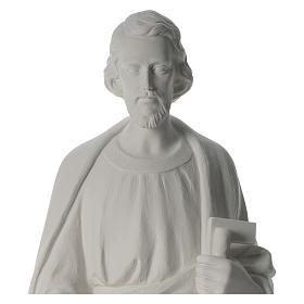 San Giuseppe Falegname 100 cm marmo s8
