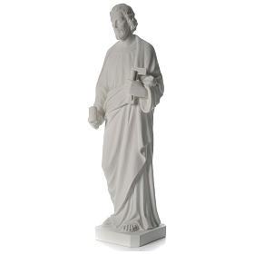 San Giuseppe Falegname 100 cm marmo s9