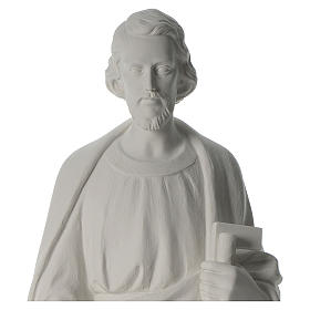 San Giuseppe Falegname 100 cm marmo s3