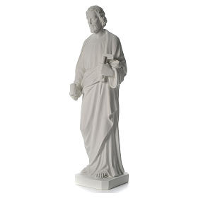 San Giuseppe Falegname 100 cm marmo s4
