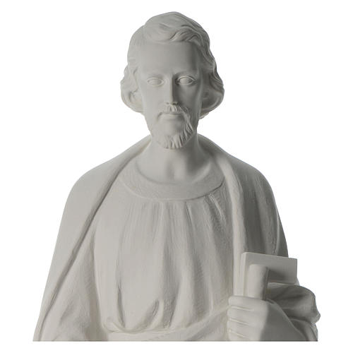 San Giuseppe Falegname 100 cm marmo 8