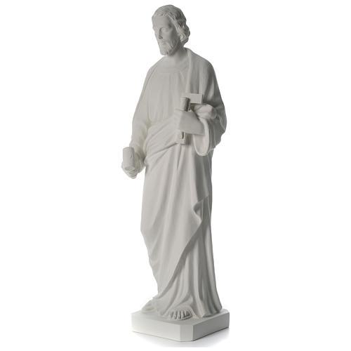 San Giuseppe Falegname 100 cm marmo 9
