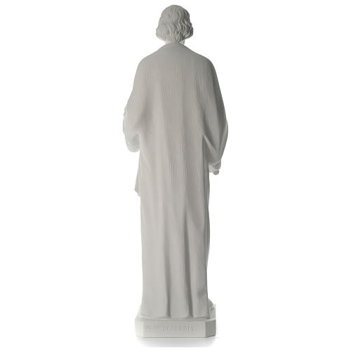 San Giuseppe Falegname 100 cm marmo 10