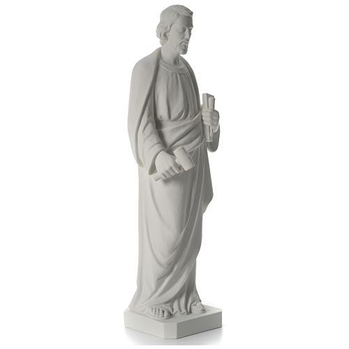 San Giuseppe Falegname 100 cm marmo 11