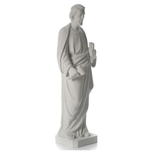San Giuseppe Falegname 100 cm marmo 6
