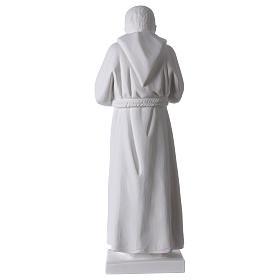 San Pio 50 cm polvere marmo di Carrara s5