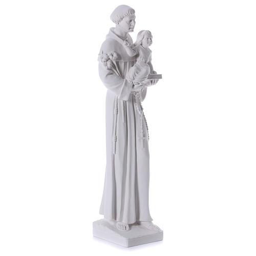 San Antonio de Padua de mármol 74-80 cm 4
