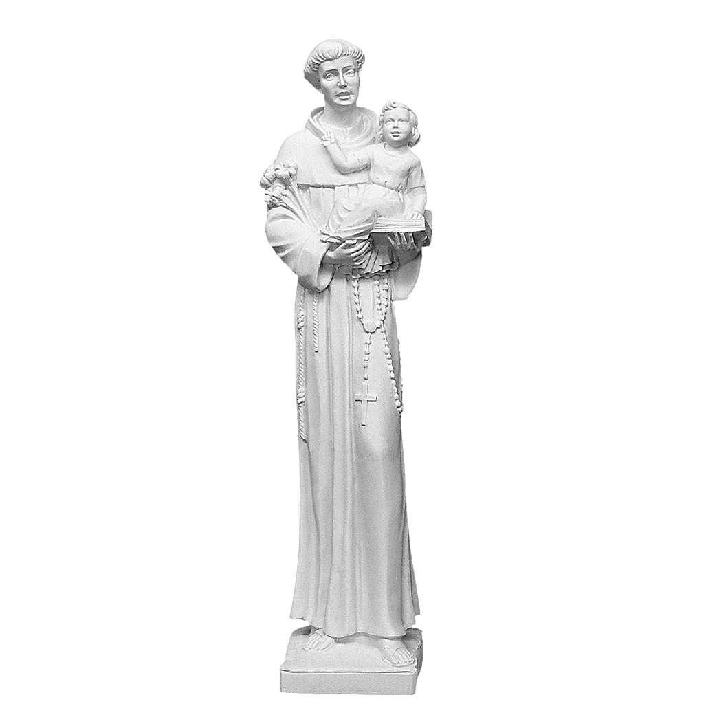 Sant'Antonio da Padova marmo 74-80 cm 4
