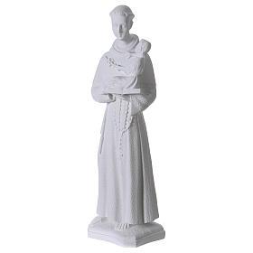 Sant'Antonio da Padova 60 cm polvere di marmo s3