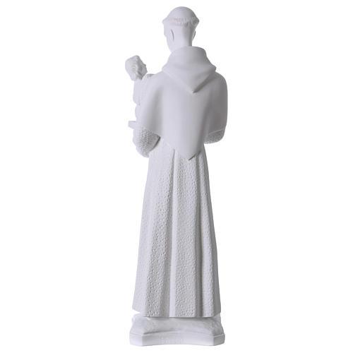 Sant'Antonio da Padova 60 cm polvere di marmo 5