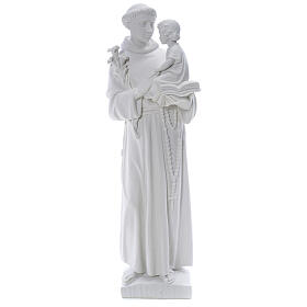 Estatua de San Antonio 65cm de mármol