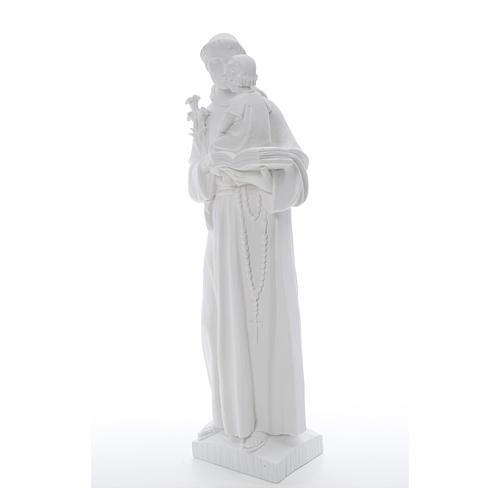 Estatua de San Antonio 65cm de mármol 6