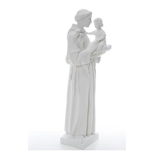 Estatua de San Antonio 65cm de mármol 8