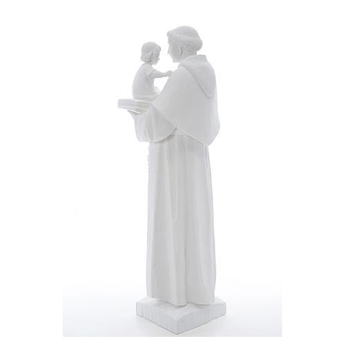 Estatua de San Antonio 65cm de mármol 3