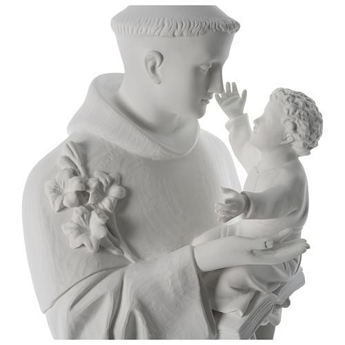 Estatua de San Antonio de mármol sintético 100 cm 2