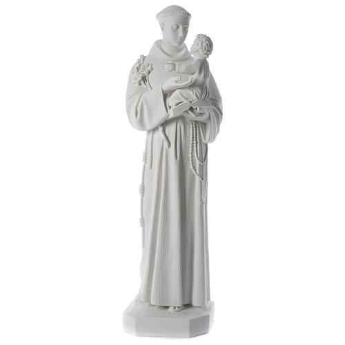 Statua Sant'Antonio marmo sintetico 100 cm 1