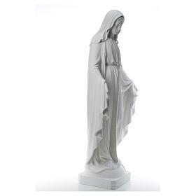 Virgen de la Medalla Milagrosa 130cm polvo de mármol Carrara s4